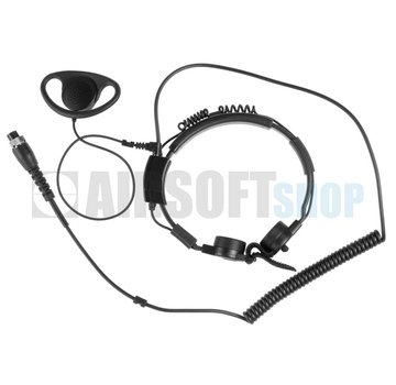 Midland AE 38 S2a Throat Mic Headset G5/G6/G7/G9