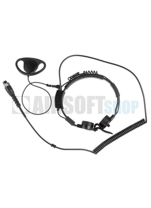 Midland AE 38 S2a Throat Mic Headset G5/G6/G7/G9