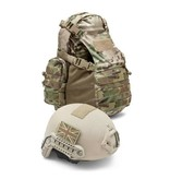 Warrior Helmet Cargo Pack (Black)