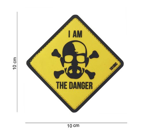 101 Inc I am The Danger PVC Patch