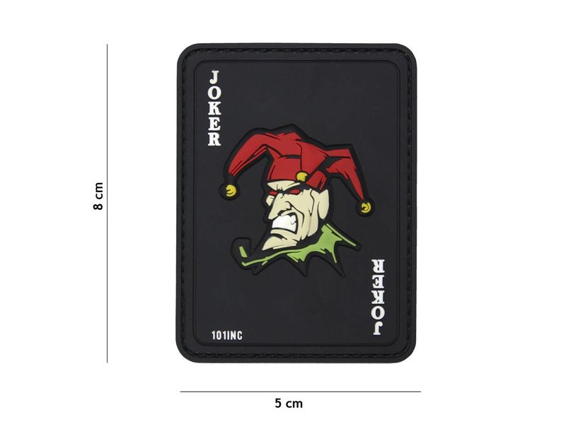 101 Inc The Joker PVC Patch