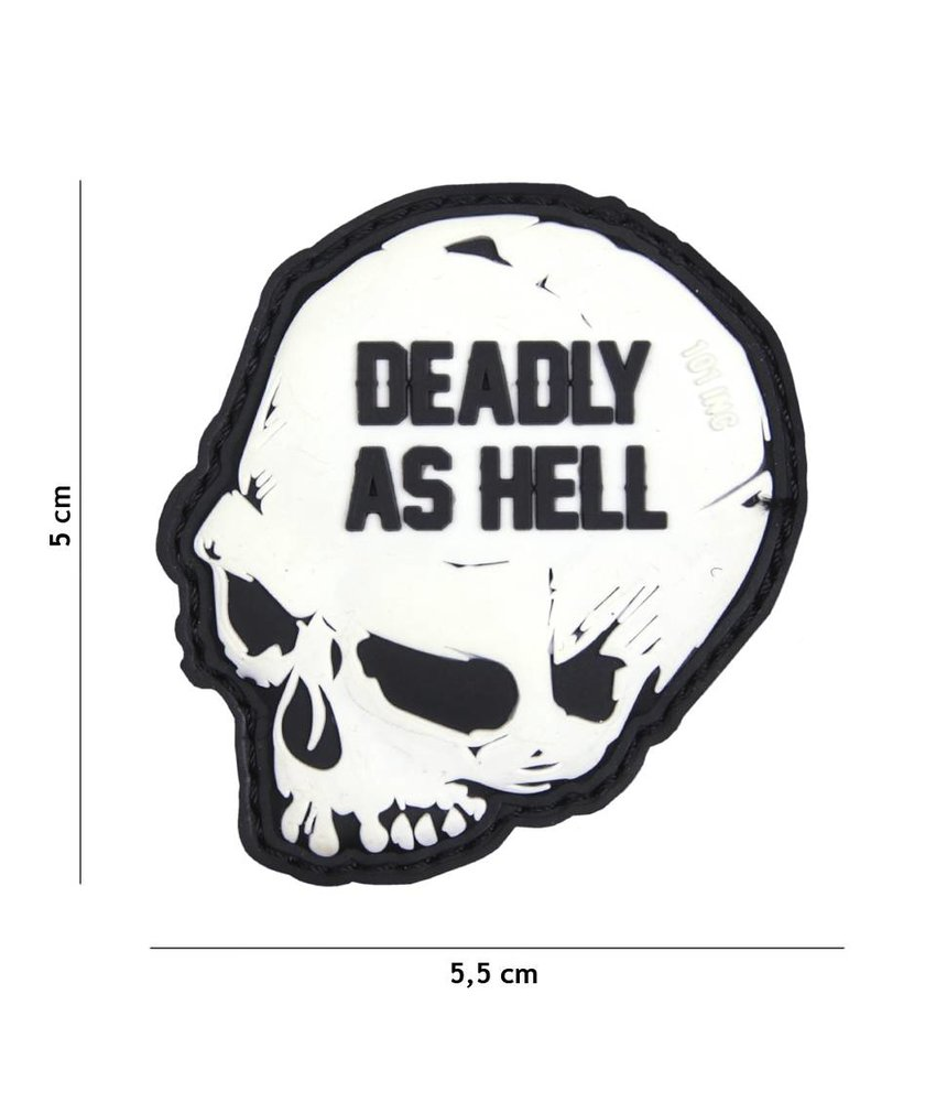 101 Inc Deadly As Hell PVC Patch