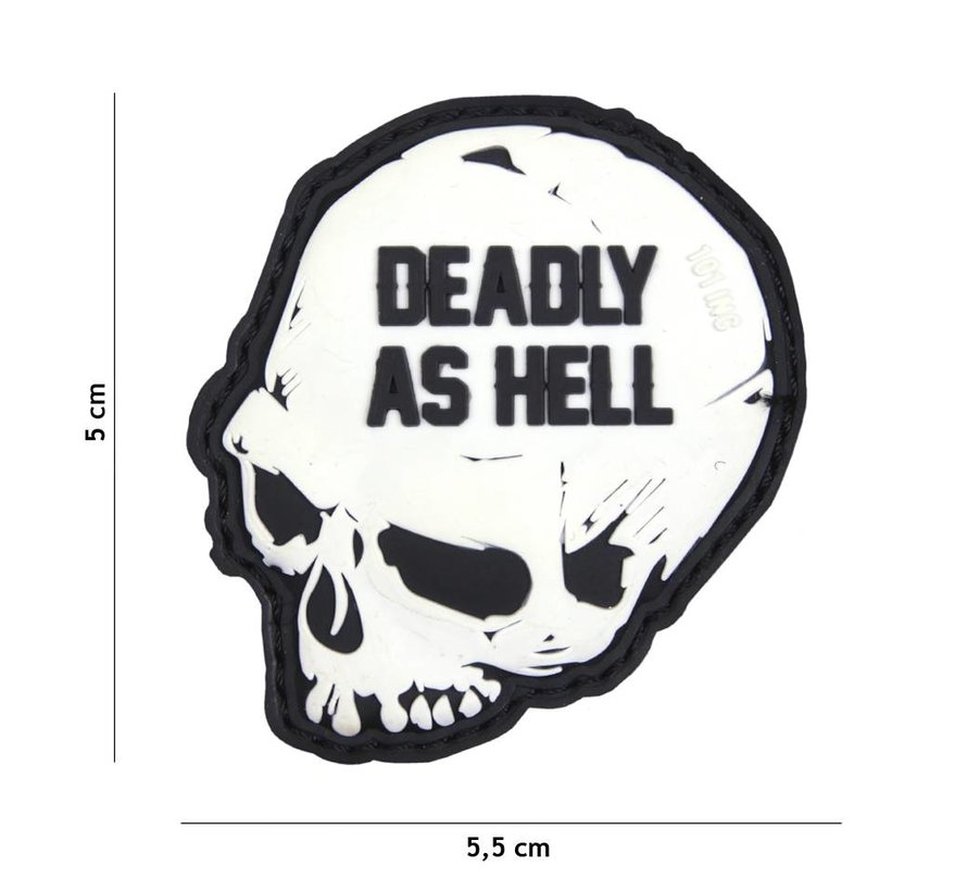 Deadly As Hell PVC Patch