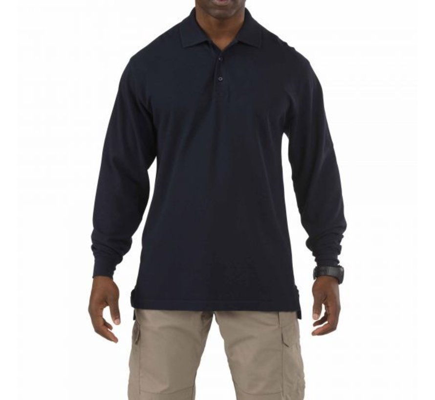 Professional Polo LS (Dark Navy)