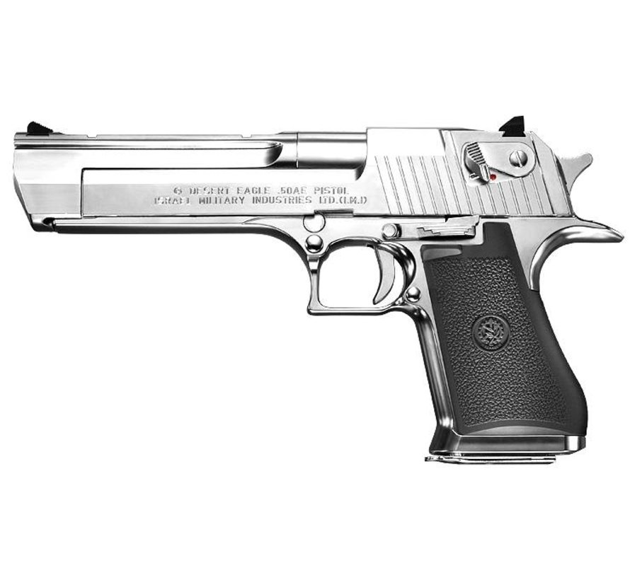 Desert Eagle .50AE (Chrome)