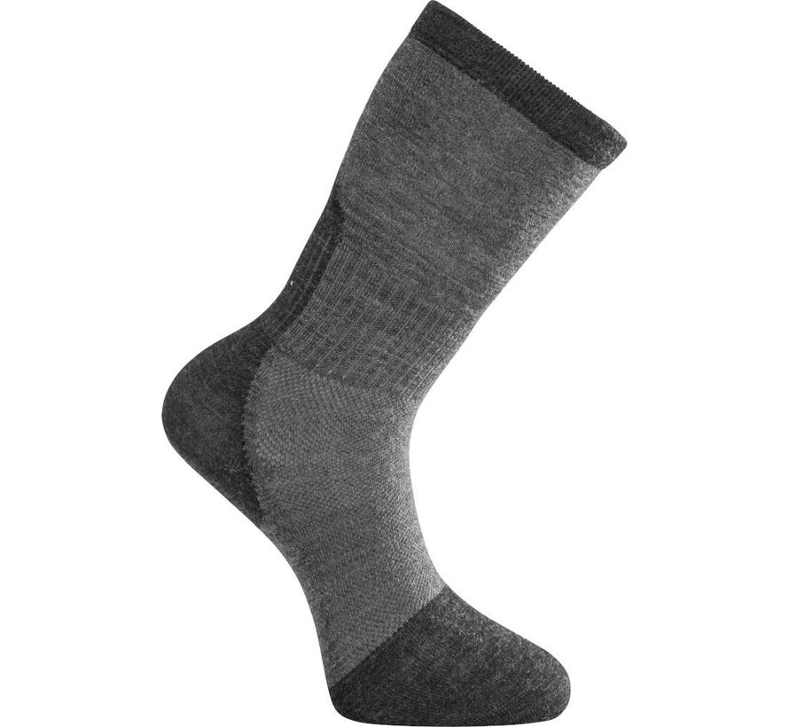 Skilled 400 Classic Socks (Dark Grey / Black)