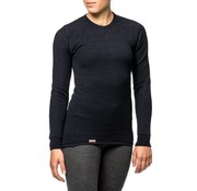 Woolpower Crewneck 200 Baselayer Shirt (Black)