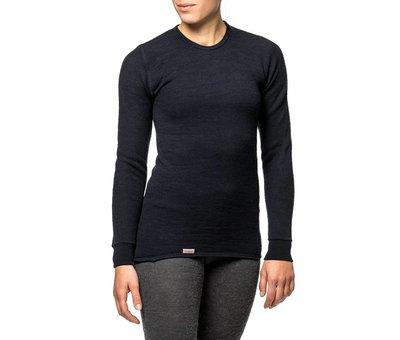 Woolpower Crewneck 200 Baselayer Shirt (Black)
