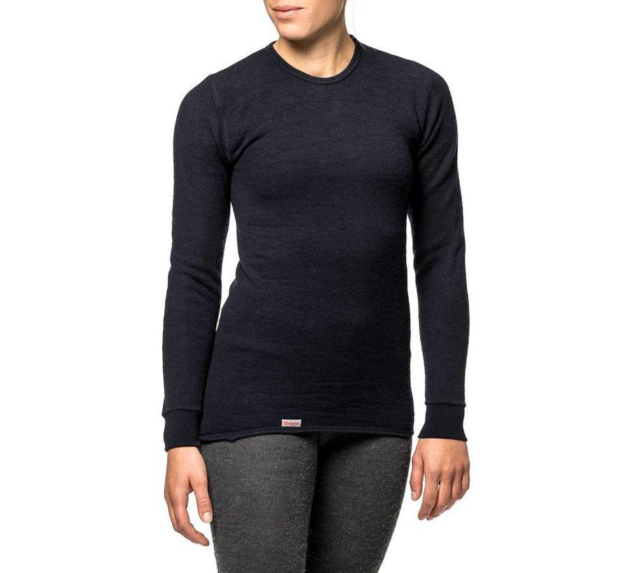 Crewneck 200 Baselayer Shirt (Black)