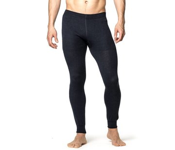 Woolpower Long Johns 200 Baselayer Pants (Black)