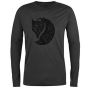 Fjällräven Abisko Trail Long Sleeve T-Shirt (Dark Grey)