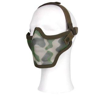 101 Inc Half Face Mesh Mask (Woodland)