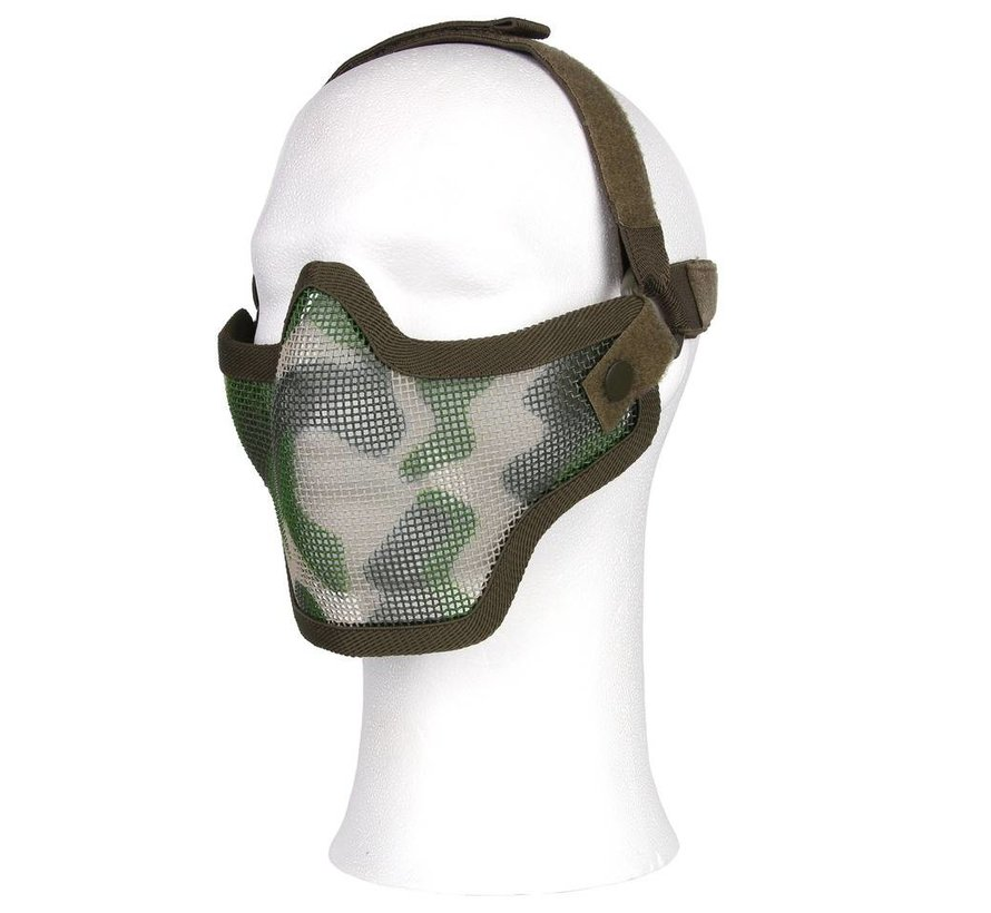 Half Face Mesh Mask (Woodland)