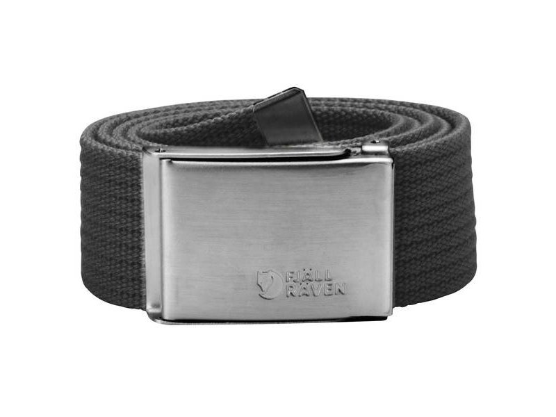 Fjällräven Canvas Belt (Dark Grey)