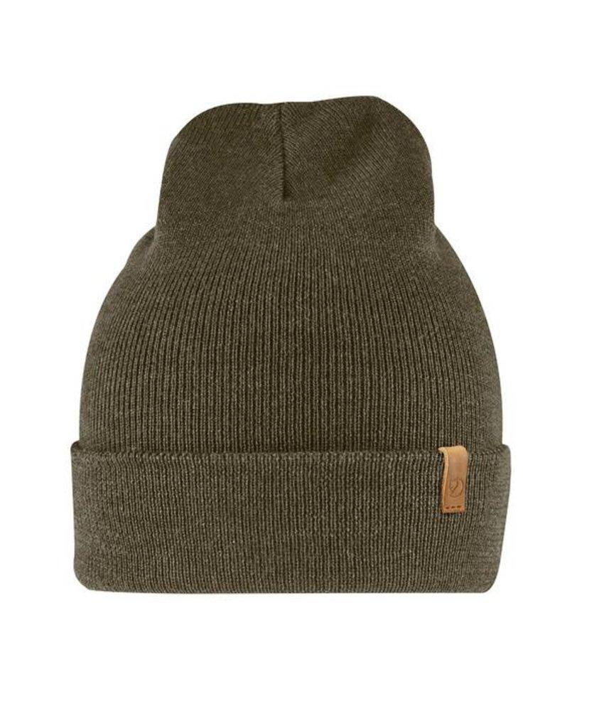 Fjällräven Classic Knit Hat (Dark Olive)