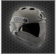 WARQ Full Face Mask & Helmet KIT (Grey)
