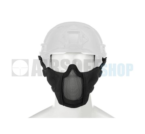 Invader Gear Mk II Steel Mesh Mask FAST Helmet Version (Black)