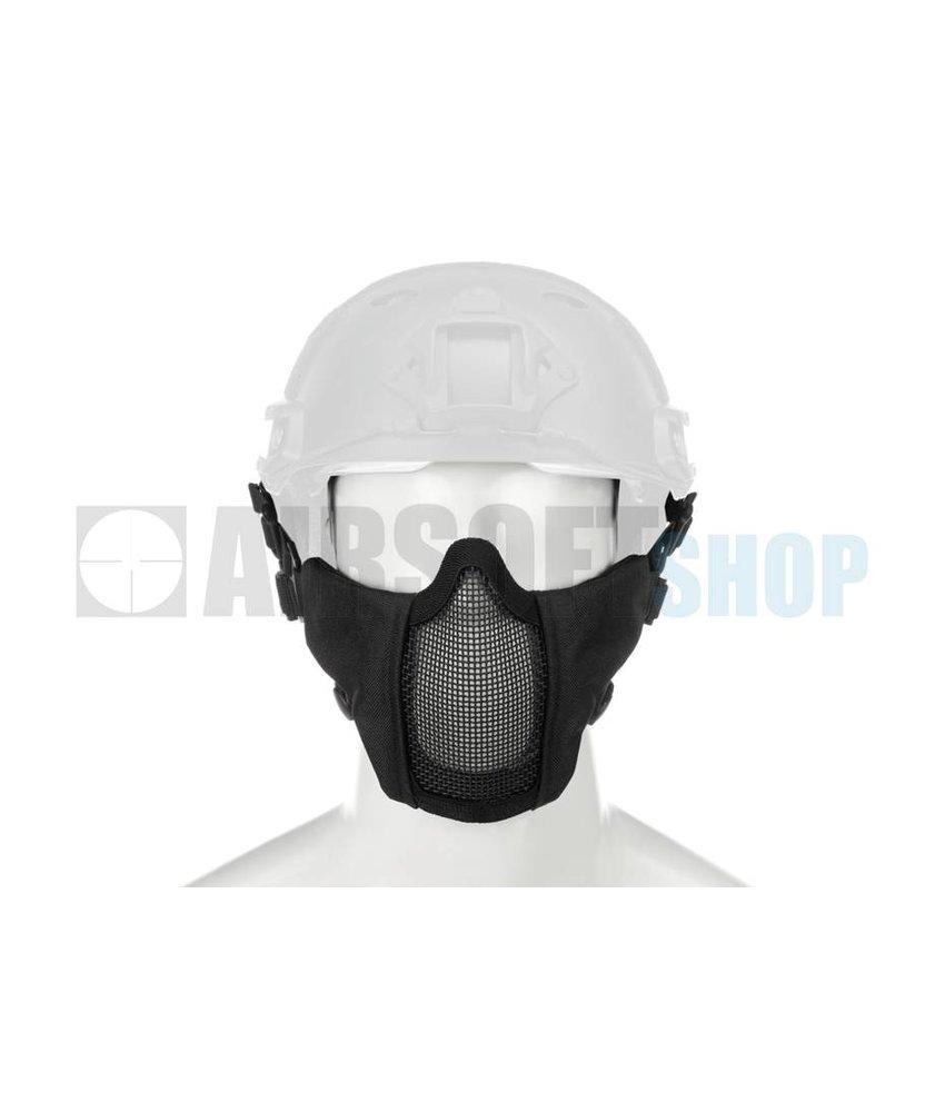 Invader Gear Mk II Steel Mesh Mask FAST Helmet Version (Black)