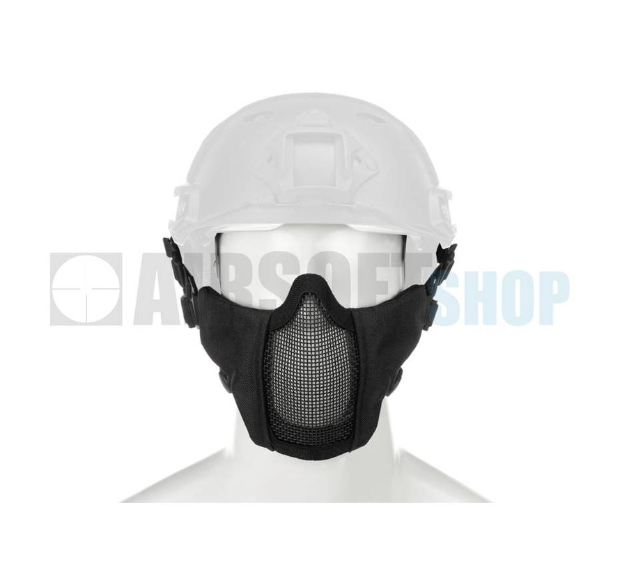 Mk II Steel Mesh Mask FAST Helmet Version (Black)