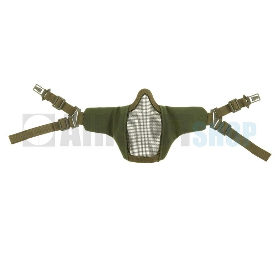 Mk II Steel Mesh Mask FAST Helmet Version (Olive Drab)