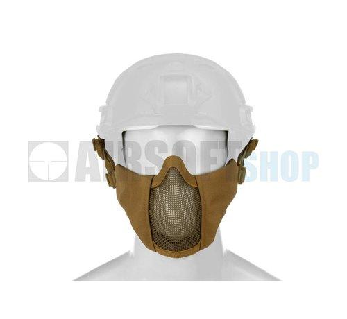 Invader Gear Mk II Steel Mesh Mask FAST Helmet Version (Tan)