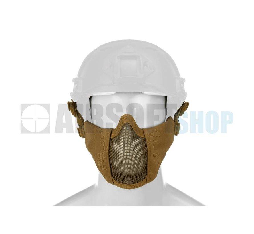 Mk II Steel Mesh Mask FAST Helmet Version (Tan)