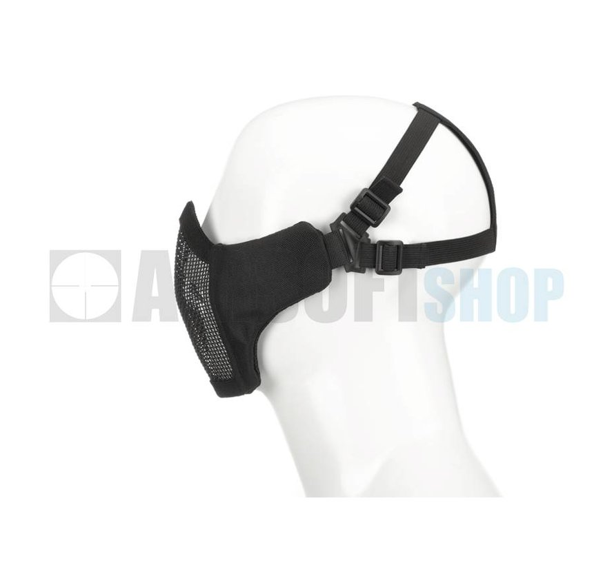 Mk II Steel Mesh Mask Nylon Version (Black)