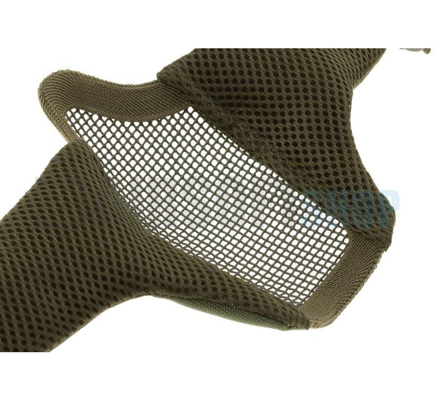 Mk II Steel Mesh Mask Nylon Version (Woodland)