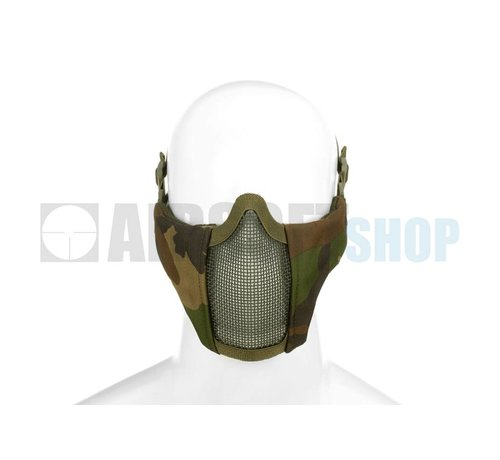 Invader Gear Mk II Steel Mesh Mask Nylon Version (Woodland)