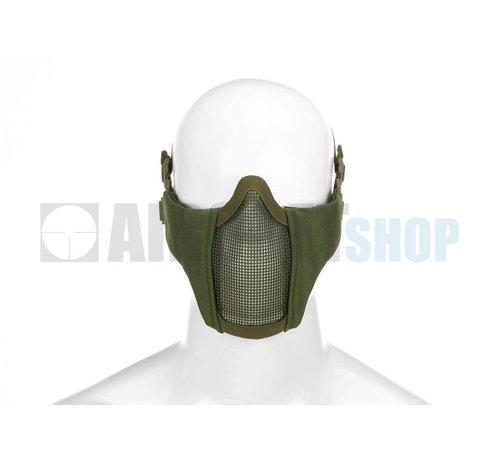 Invader Gear Mk II Steel Mesh Mask Nylon Version (Olive Drab)