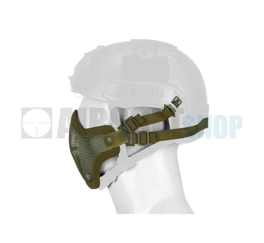 Steel Mesh Mask FAST Helmet Version (Olive Drab)