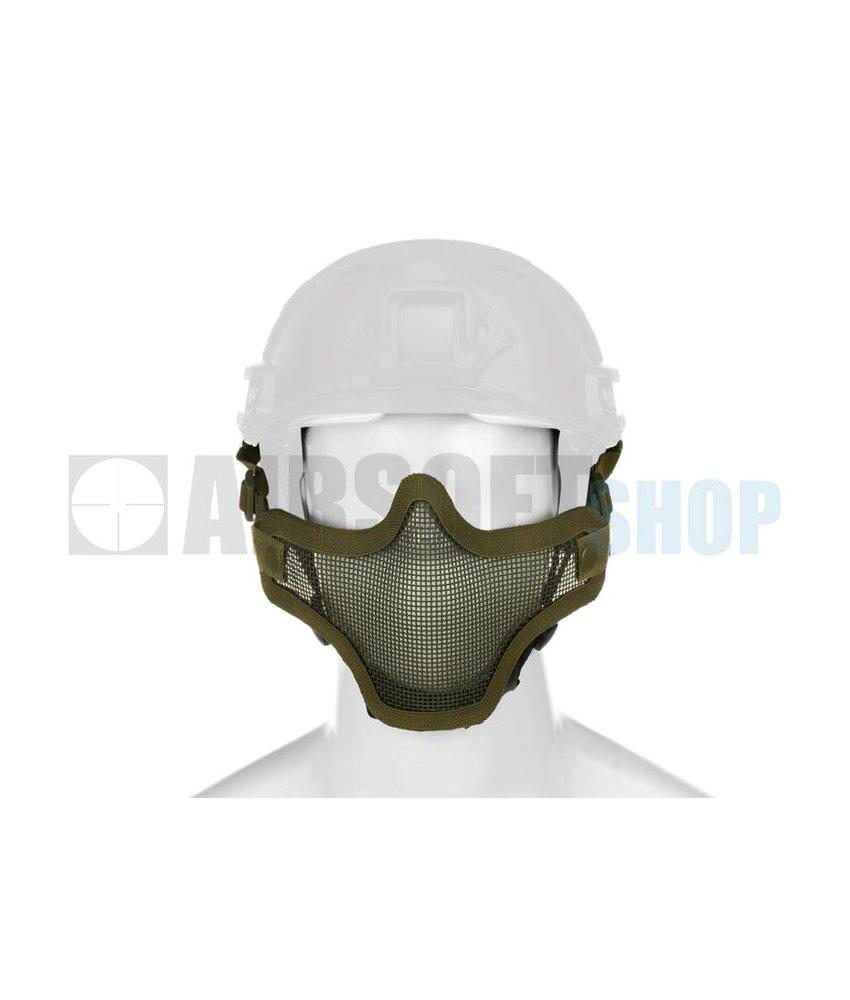 Invader Gear Steel Mesh Mask FAST Helmet Version (Olive Drab)