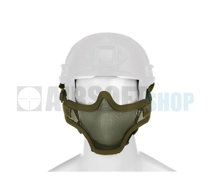 Steel Mesh Mask FAST Helmet Version (Olive Drab)