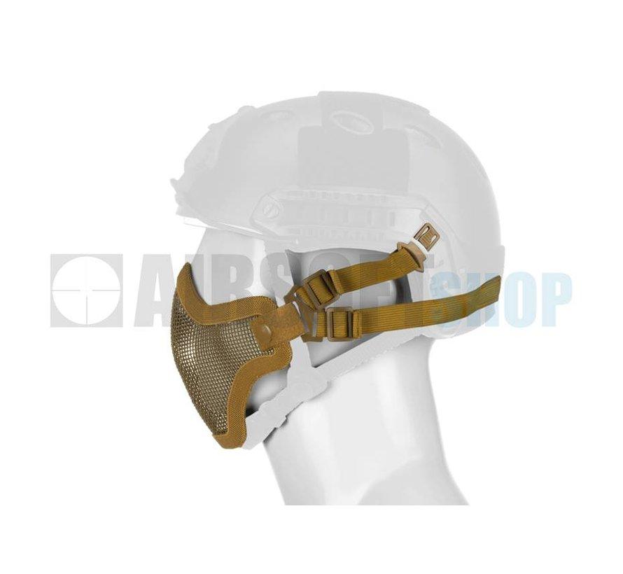 Steel Mesh Mask FAST Helmet Version (Tan)