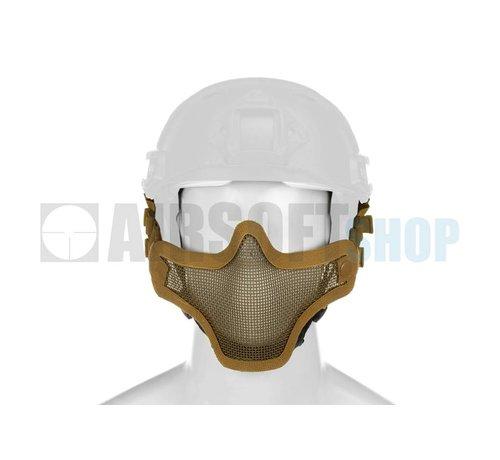 Invader Gear Steel Mesh Mask FAST Helmet Version (Tan)