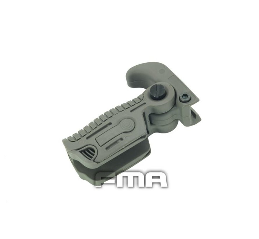 AB163 Foldable Grip (Foliage Green)