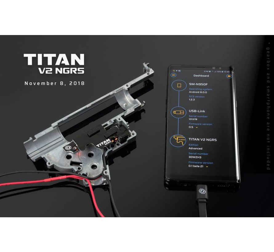 TITAN V2 NGRS (Marui NEXT-GEN) Advanced Set (Rear Wired)