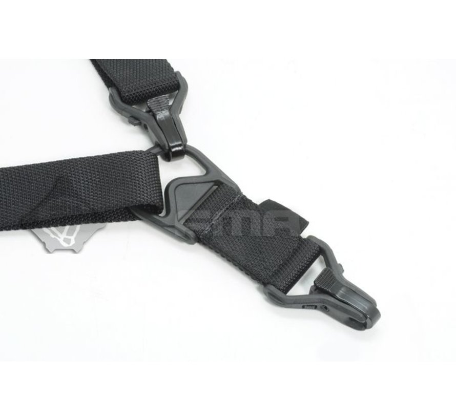 FS3 Multi-Mission Single Point / 2Point Sling (Black)