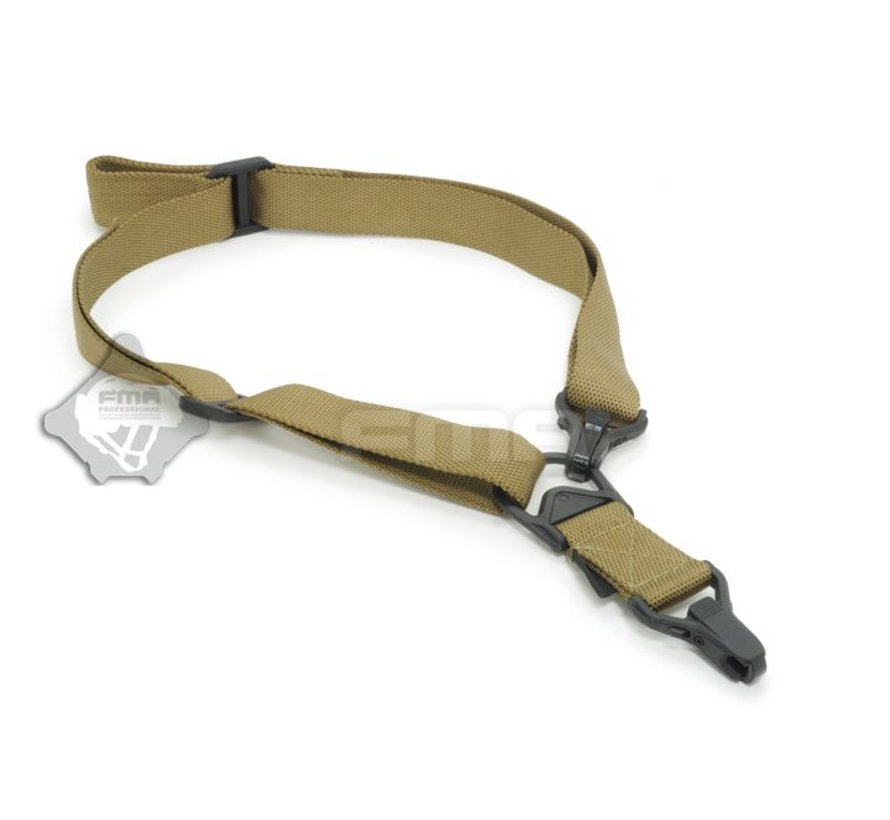 FS3 Multi-Mission Single Point / 2Point Sling (Coyote)