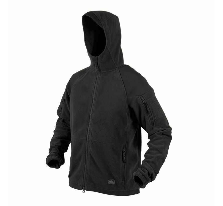 Cumulus Heavy Fleece Jacket (Black)