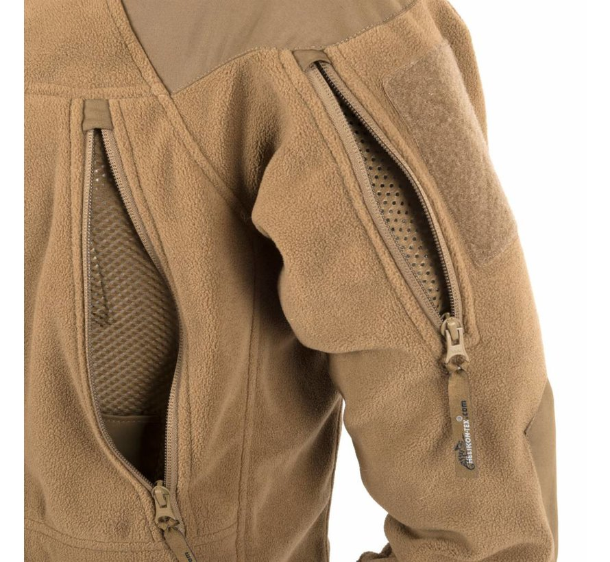 Stratus Heavy Fleece Jacket (Olive Green)