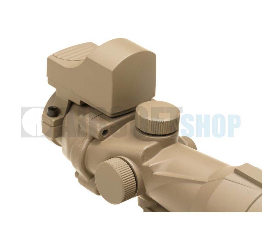 4x32 QD COMBO Combat Scope (Desert)