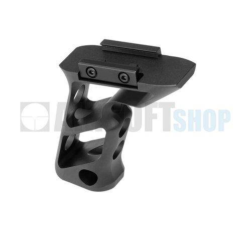 Metal CNC Picatinny Long Angled Grip (Black)