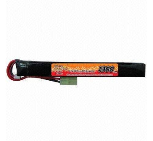 VB Power LiPo 11.1V 1300mAh 25C AK Series Stick Type