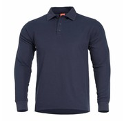 Pentagon Aniketos Polo Long Sleeve Shirt (Navy Blue)