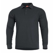 Pentagon Aniketos Polo Long Sleeve Shirt (Black)