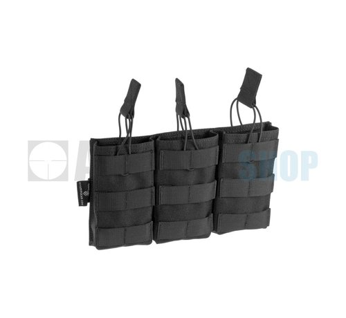 Invader Gear 5.56 Triple Direct Action Mag Pouch (Black)