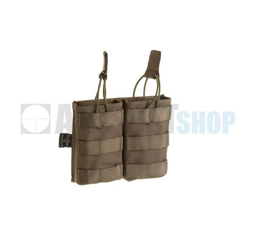 Invader Gear 5.56 Double Direct Action Mag Pouch (Ranger Green)