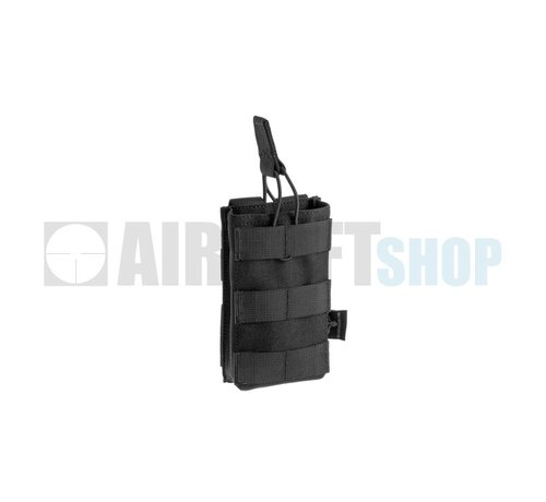 Invader Gear 5.56 Single Direct Action Mag Pouch (Black)