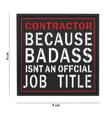 101 Inc Contractor Badass PVC Patch